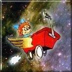 Actual snapshot of me... cruising through the universe.