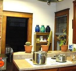 I love my cozy kitchen...
